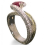 Brilliant Ruby Ring